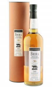 Brora 30 Year Old, Natural Cask Strength 2009 Bottling with Tube